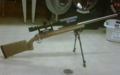 Mark B's Barrel Nut Rem 700